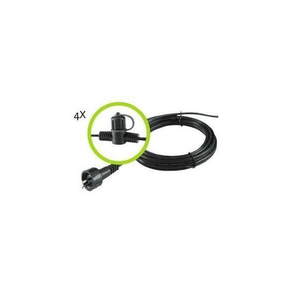 Garden Lights SPT-3 fő kábel 6 csatlakozással,, 10m