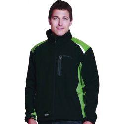 ALLYN NEW softshell kabát, zöld, M