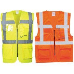 EN471 vezetői mellény, Yellow,XS