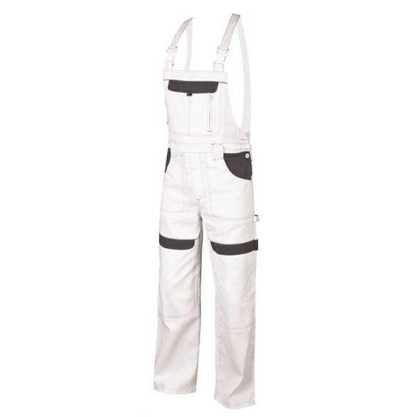 Cool Trend kantáros nadrág fehér 100% pamut 46