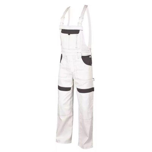Cool Trend kantáros nadrág fehér 100% pamut 66