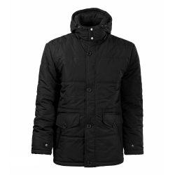 Adler 523 fekete kabát L