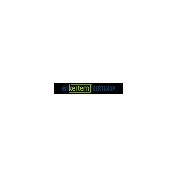 Grafit fémfalú ovális föld feletti medence, szűrőrendszerrel 610x 375x 120 cm
