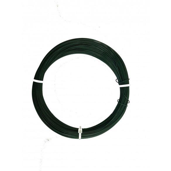 PLAST WIRE műanyag bevonatos galvanizált huzaldrót zöld 0,7mm x 100m