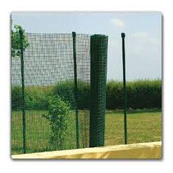 Decomet PVC bevon. fémháló  zöld 1,2x10m