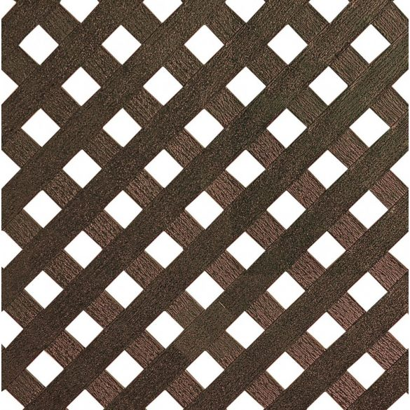 PRIVAT  PP panel 1x2m barna
