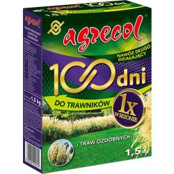 Agrecol 100napos gyeptrágya 1,5kg / 75m2