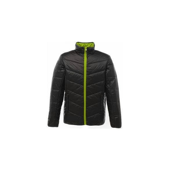 ICEFALL DOWN TOUCH JACKET , fekete/lime, L
