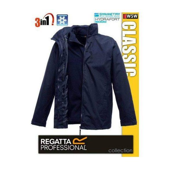 Classic 3in1 vízálló dzseki, navy XL