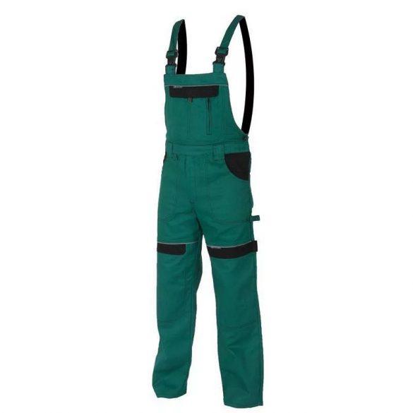 Cool Trend kantáros nadrág, zöld, 100% pamut, 46