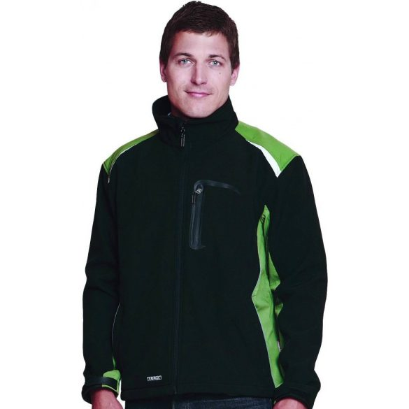 ALLYN NEW softshell kabát, zöld, XXXL
