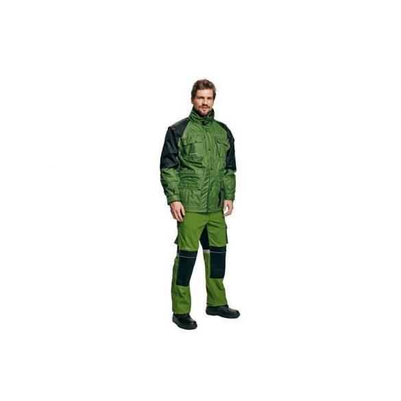 Stanmore télikabát, zöld/fekete, S
