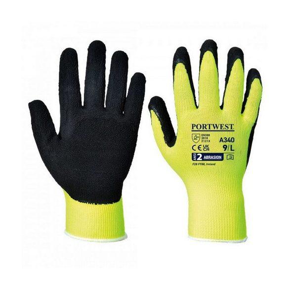 TOP Worker green (LX600) védőkesztyű, zöld, L, 9