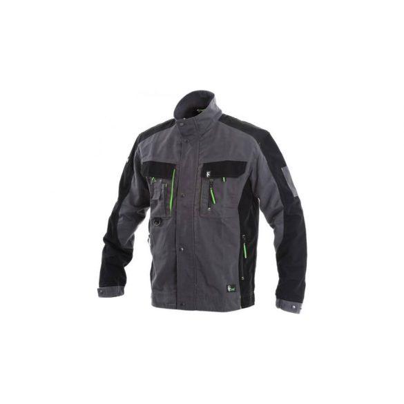 CXS Sirius Lucius kabát, sötétszürke/zöld, 48/M
