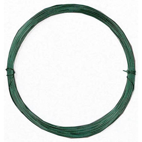 PLAST WIRE műanyag bevonatos galvanizált huzaldrót zöld 1,1 mm x 50 m
