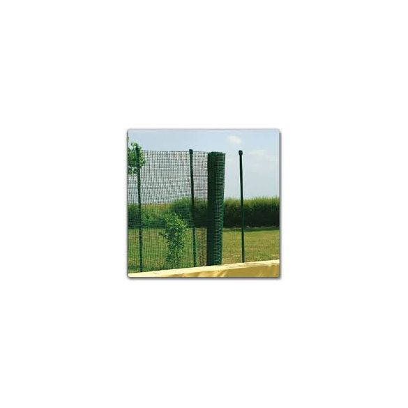 Decomet PVC bevon. fémháló  zöld 1,5x10m