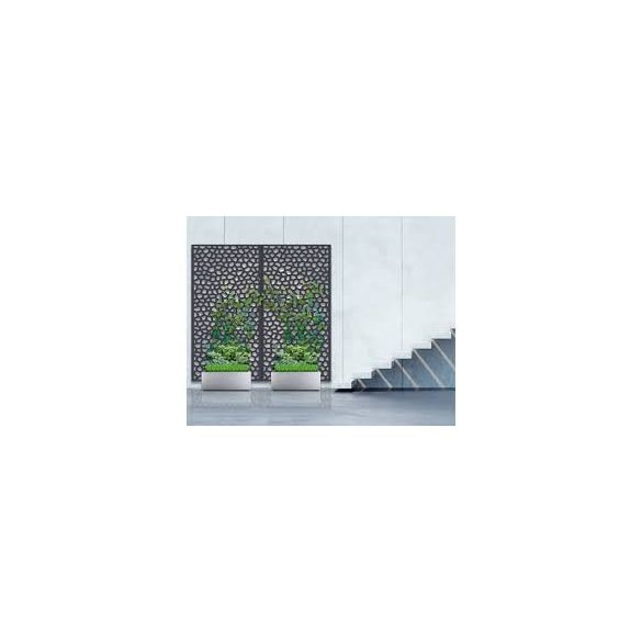 Mosaic PP panel 1x2m barna