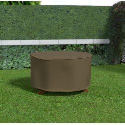 COVERTOP mérsékelten vízálló bútortakaró szövet 90 g/m2 drapp 125 x 125 x h.70 c