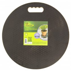 FLORA ROLL STRONG gurulós növényalátét fekete/barna  O 0,40