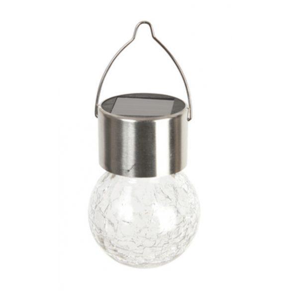 LIGHTIS  napelemes gömb lámpás vegyes O 6,5 x 9 cm