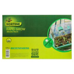 Rapid Grow mini üvegház szellőzővel 38x24x18cm*