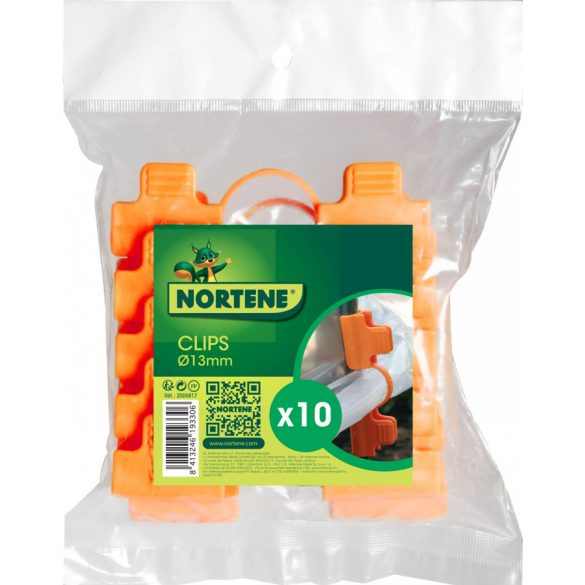 CLIPS TUTEURS klipsz fólia rögzítéséhez narancssárga o 13 mm