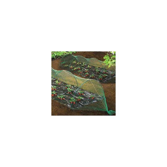 BIRDNET HDPE extrudált madárháló, rombusz szemformájú zöld 4 x 50