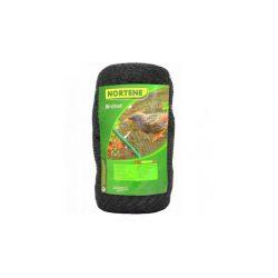 BIRDNET HDPE extrudált madárháló, rombusz szemformájú fekete 8 x 10