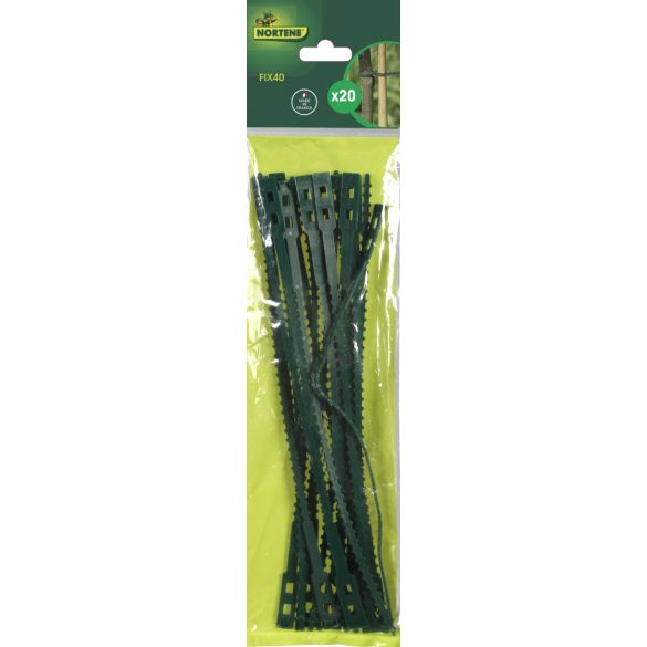 FIX 40 műanyag kötöző zöld 32 cm