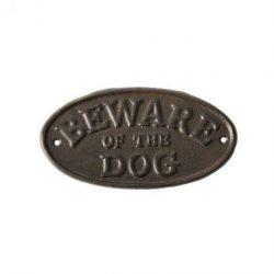 Beware of the dog feliratú tábla HB24