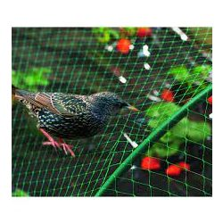 BIRDNET HDPE extrudált madárháló, rombusz szemformájú 5379/200 zöld 2 x 100